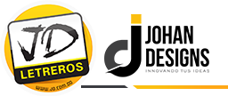 Johan Designs & JD Letreros, Puerto Plata, Rep. Dom. Logo